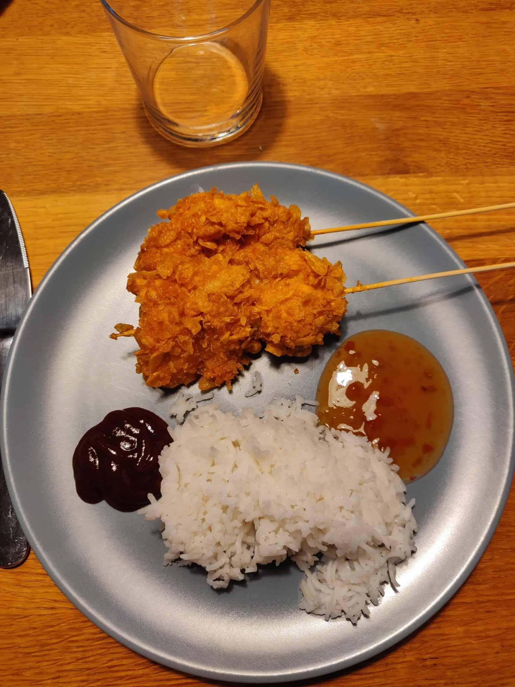 Cornflakespanerad kyckling 1