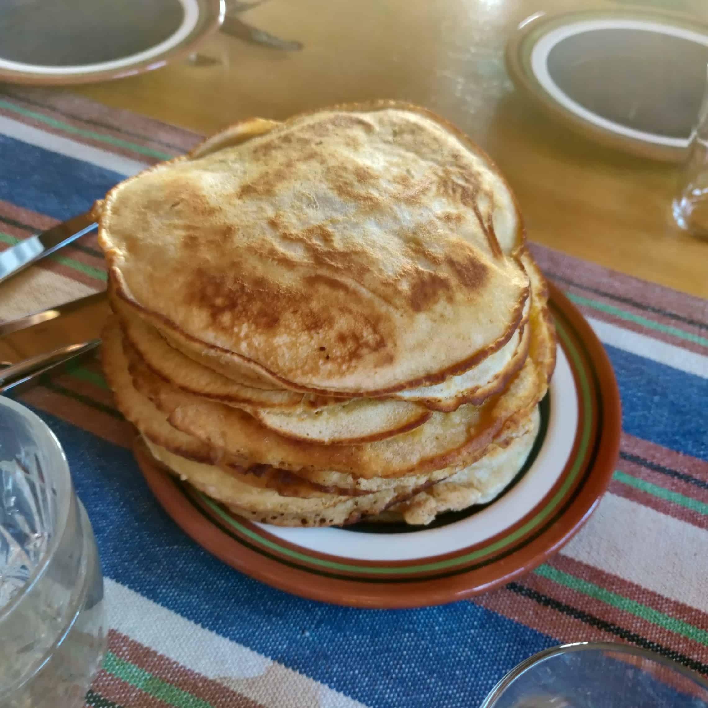 Amerikanska Frukostpannkakor 1