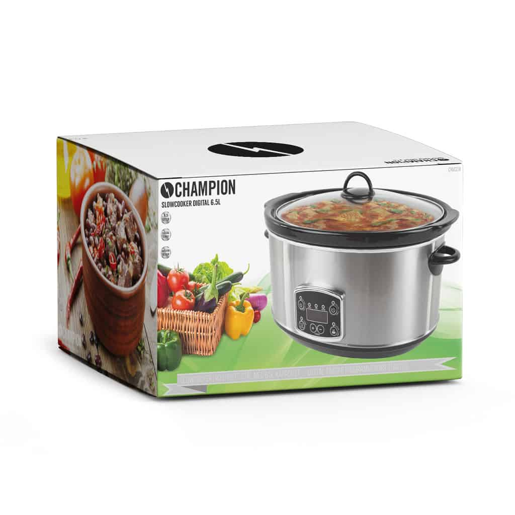 CHAMPION Slowcooker 6,5l 2